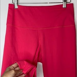 Bright pink color legging